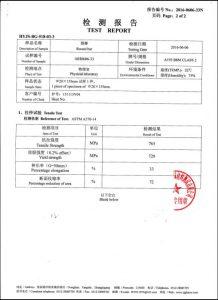 Certifikát pro A193 B8M CL2