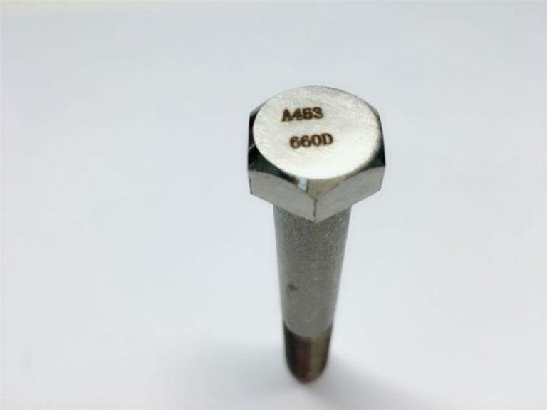a286 vysoce kvalitní spojovací prvky astm a453 660 en1.4980 upevnění šroubů hardwarového stroje