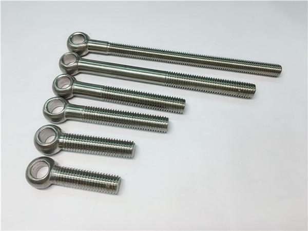 Oční šroub 904l / 1,4539 / uns n08904, přizpůsobené šrouby pro montáž ventilů