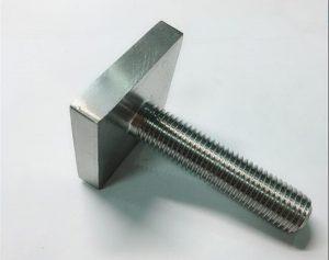 Nikel Cooper monel400 spojovací prvek čtyřhranný n04400