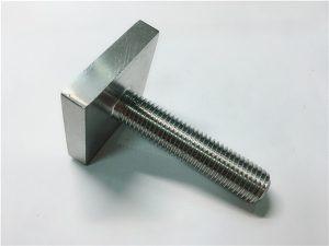 Č. 105-nikl Cooper monel400 spojovací prvek čtvercový šroub ne04400