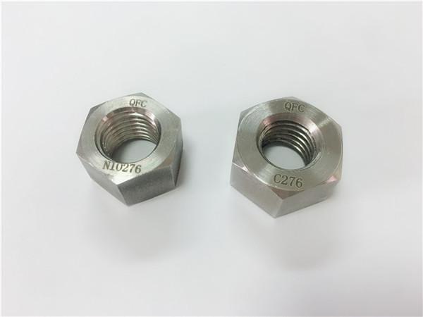 výrobce speciálních spojovacích prostředků hastelloy ořechy c276