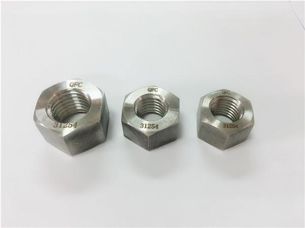 gh2132 / a286 spojovací materiál z nerezové oceli, těžké šestihranné matice m6-m64