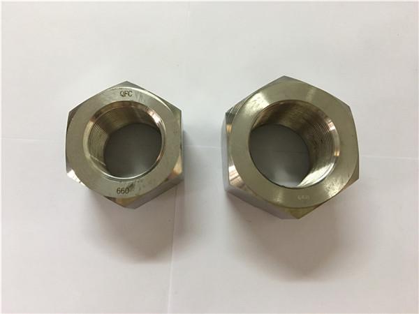 výroba niklové slitiny a453 660 1,4980 šestihranných matic