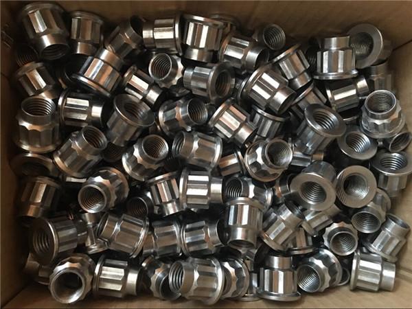 nejlepší kvalita cnc soustružení kulaté matice z nerezové oceli