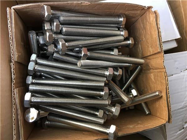 310s / 1.4845 speciální upevňovací prvky z nerezové oceli s šestihrannou maticí matice m24 * 80mm