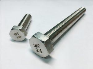 Podložky matic č. 59-Incoloy 925, upevňovací prvek slitiny 825925