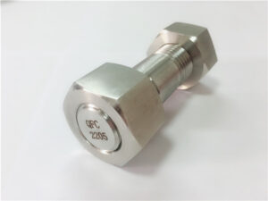 Č. 75 - Vysoce kvalitní duplexní závrtný šroub z nerezové oceli 2205