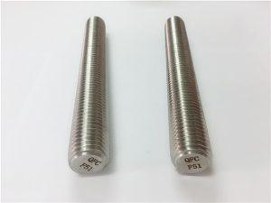 Č.77 Nerezové spojky Duplex 2205 S32205 z nerezové oceli DIN975 DIN976 závitové tyče F51