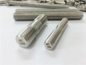 Č. 80-duplex 2205 S32205 2507 S32750 1.4410 vysoce kvalitní hardwarové upevnění dřevěná závitová tyčová kotva