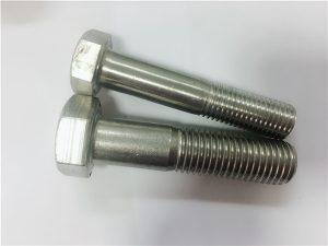 Č. 90-Studený kovaný šestihranný šroub a4-80 din931