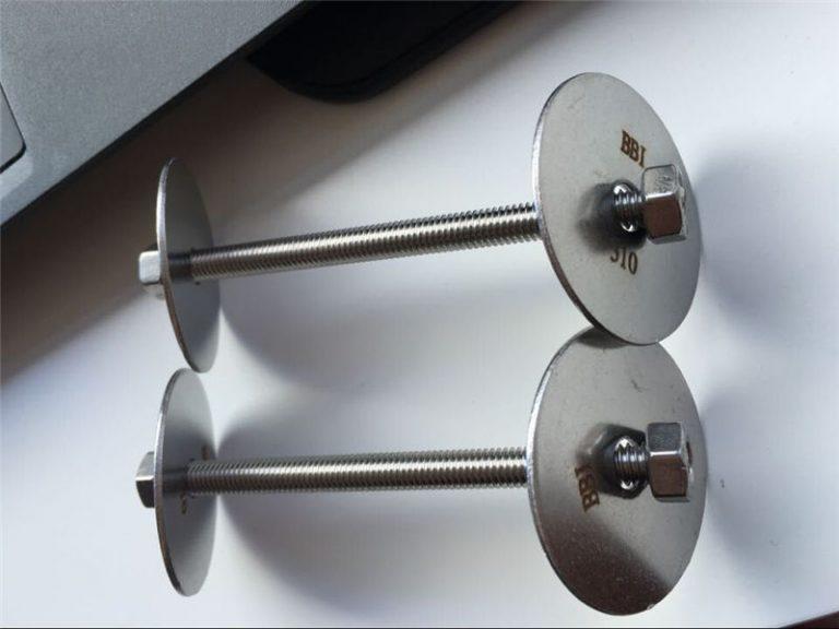 Spojovací prvek ss310 / ss310s astm f593, šrouby, matice a podložky z nerezové oceli