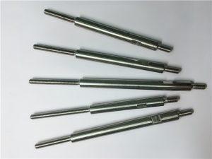 cnc přesné opracování závitů z nerezové oceli